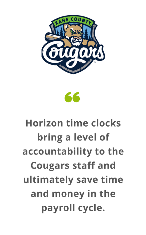 Horizon time clocks bring a level of accountability to the Cougars staff and ultimately save time and money in the payroll cycle..png