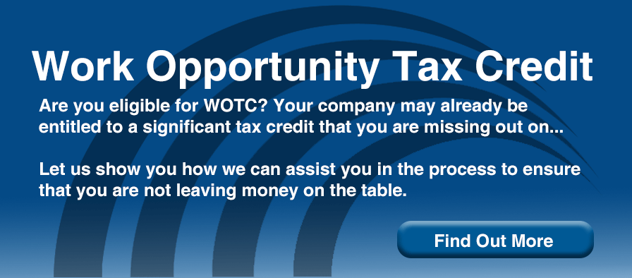 Work Opportunity Tex Credit