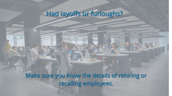 Planning for the Future: What You'll Need to Know to Rehire and Recall