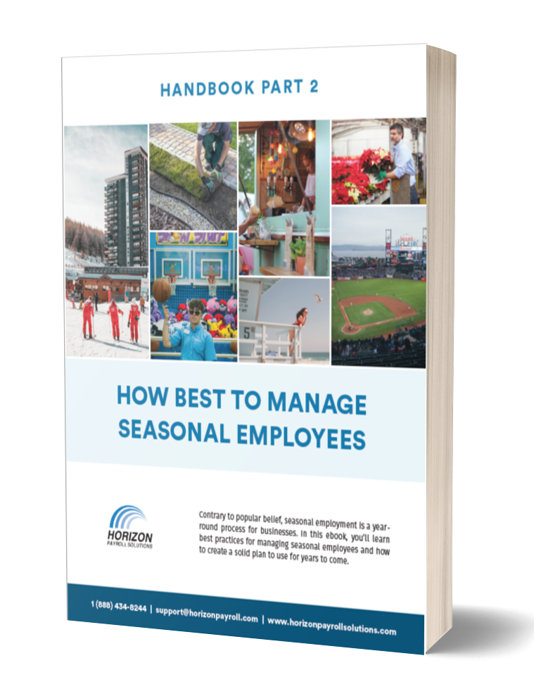 How to manage seasonal employees ebook part 2
