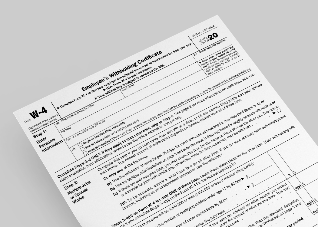 New Year, New W-4?: What You Need to Know About the Redesigned 2020 Form W-4